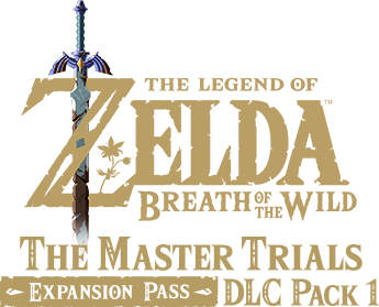 The Legend of Zelda: Breath of the Wild The Master Trails Expansion Pass DLC Pack 1 logo