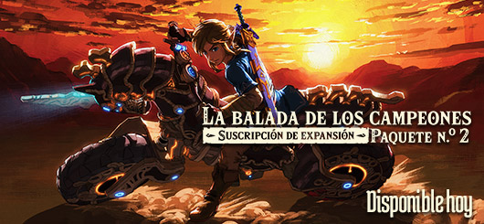 The Legend of Zelda: Breath of the Wild The Champions' Ballad Expansion Pass DLC Pack 2 logo