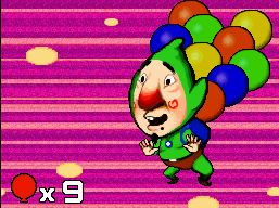 Tingle with balloons