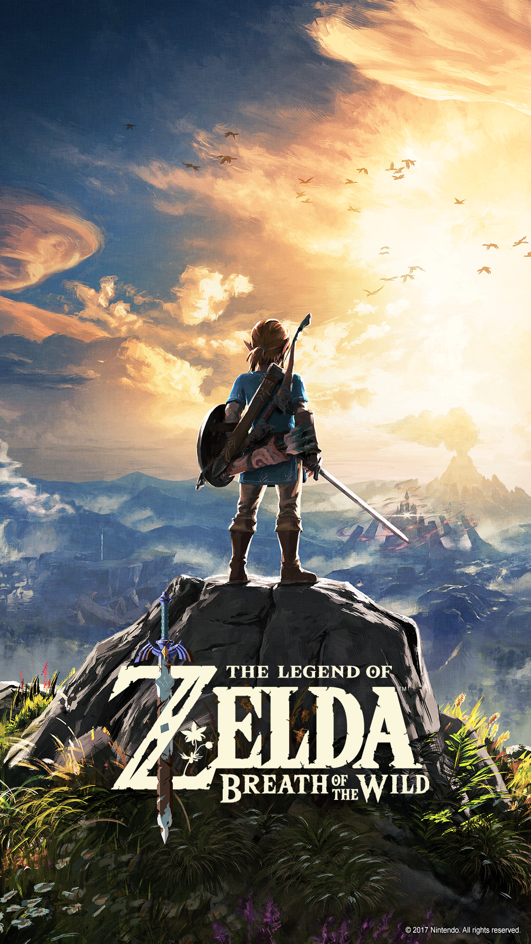 The Legend Of Zelda Breath Of The Wild For The Nintendo Switch